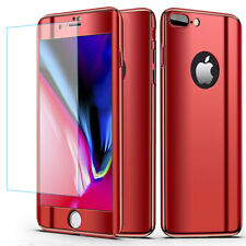 Screen Protector 360 Mirror Slim Hybrid Case Cover For iPhone X 8 7 6s Plus 5 SE