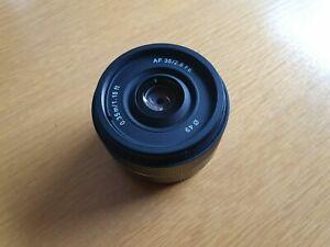 Samyang AF 35mm f2.8 Lens Autofocus Excellent Condition + free Hoya UV Filter