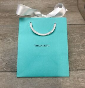 TIFFANY & Co. Gift Bag | Small (12.5 x 15 x 10cm) - With Ribbon | BRAND NEW