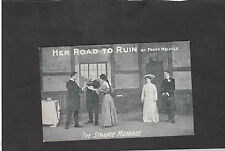 C1909 from the Play'Her Road to Run'by Fred Melville-The Strange Marriage
