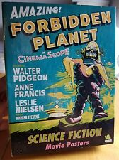 Vintage Science Fiction Movie Poster Forbidden Planet