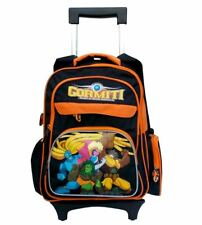 Gormiti Large School Roller Backpack Trolley Wheeled Bag