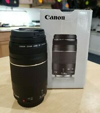 Canon EF 75-300mm f/4-5.6 IS III USM Telephoto Zoom Lens Pre-owned w/ Box