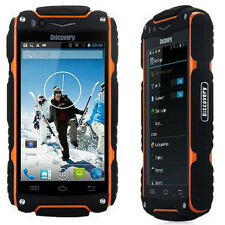 Unlocked Discovery V8 Smartphone MTK6582 Rugged Android 3G Mobile Phone Orange