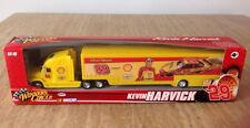 2008 Winners Circle Yellow Trailer Rig Toy Semi Truck #29 Kevin Harvick Pennzoil