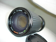 TOU / Five STAR 75-200 mm f 4.5 zoom lens , for  Canon FD mount camera SN8341871