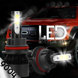 XENTEC LED HID Headlight kit 9004 HB1 White 1991-1992 Oldsmobile Custom Cruiser