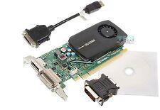 NVIDIA Quadro K600 1GB DDR3 Video Graphics Card Low Half Height Bracket SFF