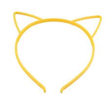 Women Girl Cat Ears Hair Band Headband Plastic Costume Orecchiette Head band