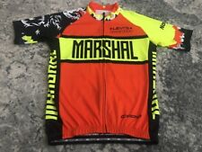 Capo Cycling Jersey Marshal Levi's Gran Fondo Shirt Clif Bar Nissan Norcal M New