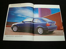 BMW 3-SERIES COMPACT UK SALES BROCHURE - DATED 1994