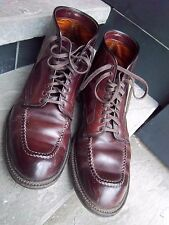 Alden Indy Boot Color 8 Shell Cordovan Bootmaker Edition Commando Sole  $787 13D