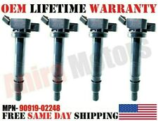 BRAND NEW 4x OEM Denso Ignition Coils for Toyota Camry 2007-2009 2.4 L4 2AZFE