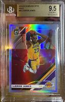 2019 Donruss Optic Holo Prizm Silver LeBron James Lakers GEM MINT 9.5 BGS