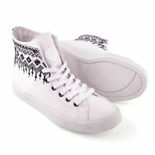 Inkkas Howlite - Vegan High Top Sneakers Unisex, Ethical, Comfy Durable