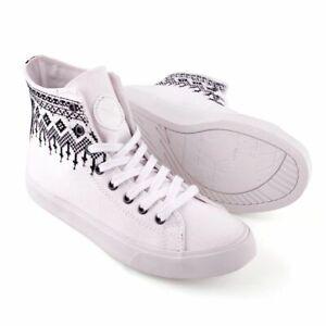 Inkkas Howlite - Vegan High Top Sneakers Unisex, Ethical, Comfy Durable