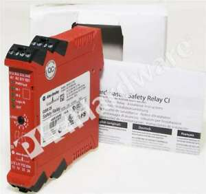 New Allen Bradley 440R-D22R2 /A Guardmaster Dual Input Safety Relay (DI)