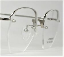 SHURON Eyeglasses Ronwinne Silver Unisex Optical Frame Spectacles NEW Authentic