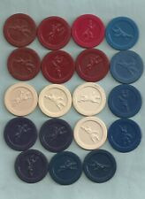 New listing Vintage Lot of 19 Jockey Poker Chips