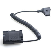 D-Tap to LP-E6 Dummy Battery DC Coupler Power Supply Adapter for Canon 7D 5D 6D
