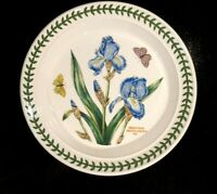 Beautiful Portmeirion Botanic Garden Iris Salad Plate, As New
