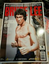 Bruce Lee American Hero 80th birthday celebration magazine. 96 pages