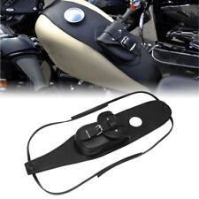 Leather Gas Tank Bag Cover Pad With Pouch For Harley Sportster 883 1200 Black JH