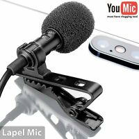 YouMic Lavalier Lapel Microphone for iPhone X 8 7 Plus 6 6s 5 5s / iOS/Android