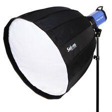Selens Parabolic Umbrella Softbox +Bowens Speed Ring Fr Studio Flashes 70Cm