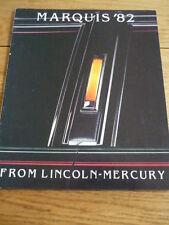 Mercury Marquis & Grand National opuscoli JM