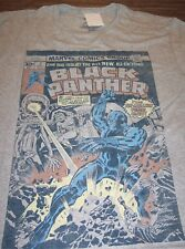 VINTAGE STYLE THE BLACK PANTHER Marvel Comics T-Shirt XL NEW w/ tag