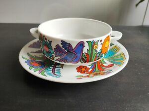 Villeroy & Boch Acapulco Christine Reuter -  Soup bowl and matching saucer