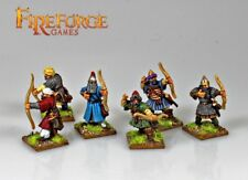 FIREFORGE GAMES ARAB ARMOURED ARCHERS 28mm FIGURES UNPAINTED FFG300