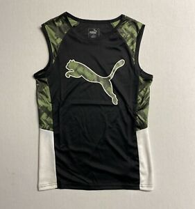 Puma Boy's Performance Muscle Shirt (Ages 8-17 Years)