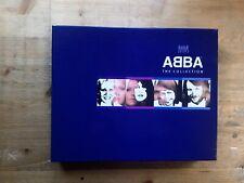 ABBA The Collection 3 x CD Booklet & VHS Video Box Set Polar 1999