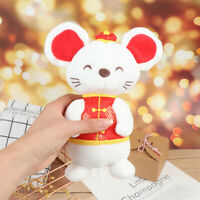 2020 Rat Mascot Rat Plush Mouse in Tang suit Soft Toys New Year Decor Gift DS