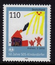 Germany 1999 The 50th Anniversary of the SOS-Children Village SG 2913 MNH