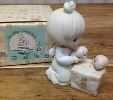 Precious Moments Puppy Dogs 1989 Membership Club Always Room For One More C0009