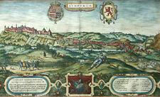 BELGIEN LIMBURG LYMPURCH ANSICHT BRAUN & HOGENBERG 1590