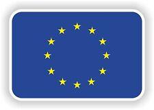 E U EUROPEAN UNION FLAG Adesivo Decalcomania Nazioni PARAURTI