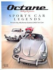 Octane magazine no.111 Porsche 356 Alfa Giulietta MGA Cobra Ferrari Sharknose