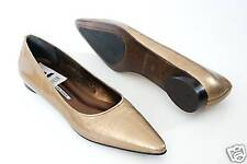 $275 Donald J Pliner OMA Leather Slip On Shoes Women's Camel 9 NEW IN BOX