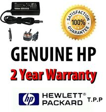 Genuine Original HP Compaq Laptop AC Adapter Power Charger + UK Mains Lead 90W