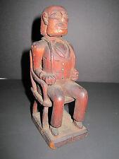 Antique Américain Art Président Martin Van Buren Début Sculpture Masterpiece