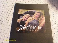 Maddie & Tae 2015 Start Here Press Kit