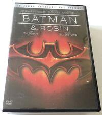 BATMAN & ROBIN ED.SPECIALE 2 DVD (G.CLOONEY) FILM ITALIANO PERFETTO VENDITA