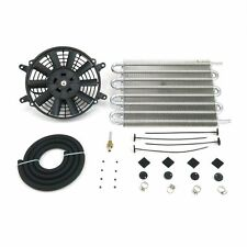 Mishi Moto Style Trans Cooler Kit MMOC-F Heavy Duty Universal (w/ Fan Kit) fan