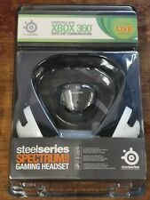 SteelSeries Spectrum 4xB gaming Headset BRAND NEW Xbox 360 / PC + audiomixer