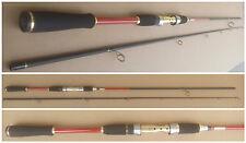 Canne lancer pêche leurre ou verticale réglable de 2,4m ou 2,73m