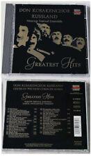 DON KOSAKENCHOR RUSSLAND Greatest Hits .. 1998 Koch-Classics CD TOP